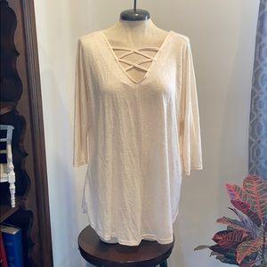 Umgee quarter sleeve shirt